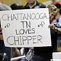 熱情支持 Chipper 的馬林魚隊球迷
