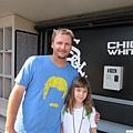 A.J. Pierzynski和他的女兒