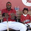 David Ortiz和其子