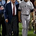 Mariano Rivera和大聯盟主席Bud Selig