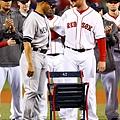 Jon Lester送上紀念座椅