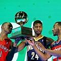 灌籃大賽東區隊拿下冠軍