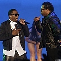 賽前表演P Diddy,Busta Rhymes