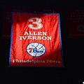 Allen Iverson球衣退休