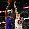 Andre Drummond豪取26分26籃板