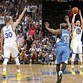 Stephen Curry單季4次「30分15助攻」