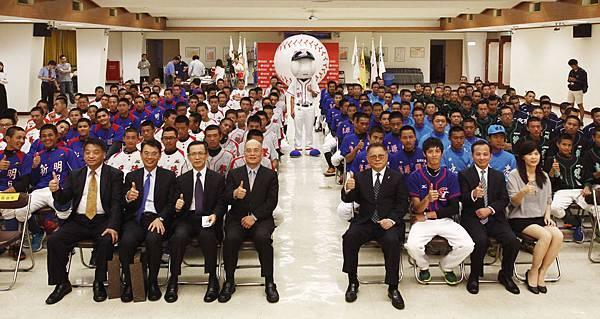 華南金控盃八強隊伍全體大合照