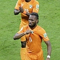 象牙海岸2-1逆轉勝日本