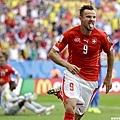 加時致勝進球 瑞士逆轉厄瓜多