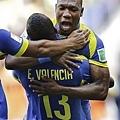 Enner Valencia率先破門
