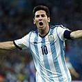 梅西睽違八年進球 阿根廷2-1取首勝