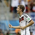 Müller演出帽子戲法 德國大勝葡萄牙
