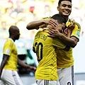 哥倫比亞二連勝 重返十六強