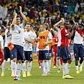 法國5比2勝瑞士 16強在望