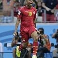 Andre Ayew攻進迦納首球
