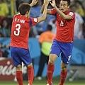 具滋哲攻進南韓第二顆進球