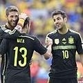 Juan Mata攻進西班牙第三球