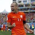Arjen Robben歡喜迎勝