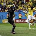 Fred攻進巴西第三球