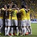 巴西四度破門取勝