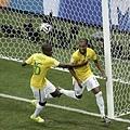 巴西四度破門