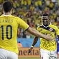 哥倫比亞全勝晉16強