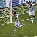 Messi開賽三分鐘破門