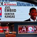 第3順位:七六人挑選 Joel Embiid