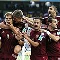 俄羅斯慶祝Alexander Kokorin進球