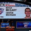 第21順位:雷霆挑選Mitch McGary.jpg