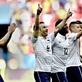 法國隊慶祝晉級