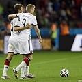 德國隊慶祝晉級