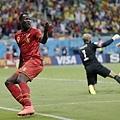 Romelu Lukaku慶祝進球