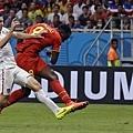 Romelu Lukaku助比利時取得兩球領先優勢