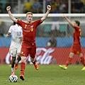 Kevin De Bruyne慶祝進球