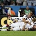 德國球員開心慶賀