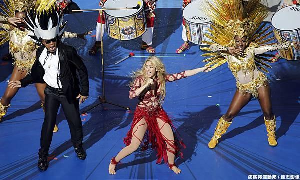 Shakira閉幕表演