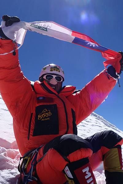 張元植高三18歲創下台灣最年輕登上6962公尺南美阿空加瓜峰創舉,25歲成功登頂布羅德峰,躍向下一個登山里程,寫下自己人生新高度