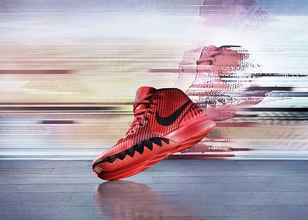 KYRIE 1延續了Nike簽名鞋系列一貫推崇的優越性能並呈現著Kyrie Irving個人的故事