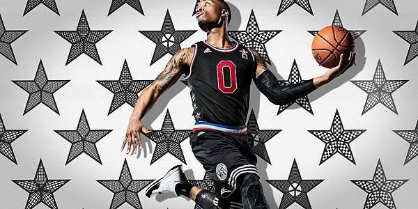 2.adidas 旗下球星 Damian Lillard即將第二度登上明星賽西區陣容的絕殺球星,推出紐約明星賽專屬配色_1
