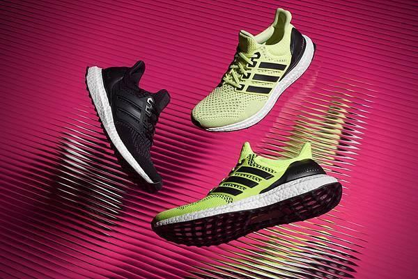 1.adidas 繼今年3 月發表史上最佳動能跑鞋-Ultra BOOST 後,8 月將革命推出該鞋款全新男女繽紛配色
