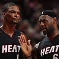 #20 LeBron James & Chris Bosh