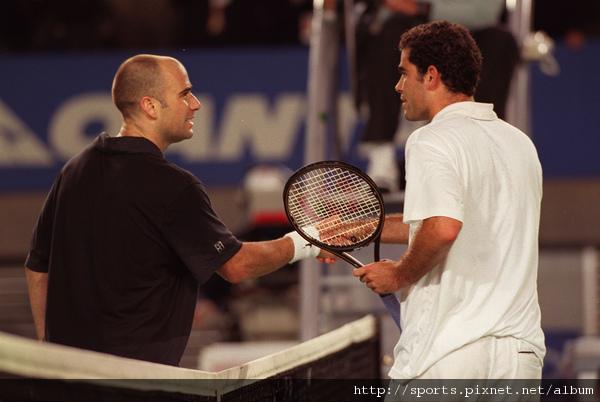 1995年澳網四強戰擊敗山普拉斯