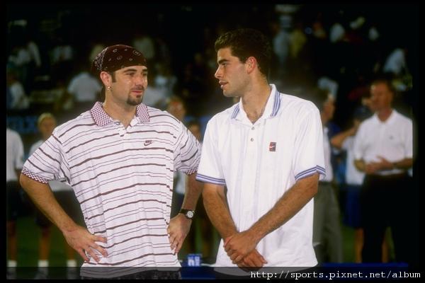 1995年美網亞軍   生涯第二次在美網決賽輸給山普拉斯