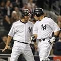 KUSO MLB 看圖說瞎話 #9 洋基 Posada & Martin