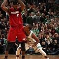 #17 LeBron James & Rajon Rondo