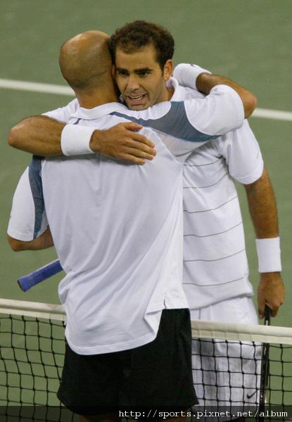 90年代兩大網球天王英雄惜英雄