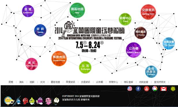 2014童玩節活動封面照片