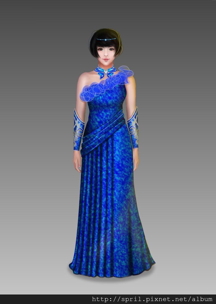 SPRIL-笑傲江湖2d服裝設計大賽─藍鳳凰