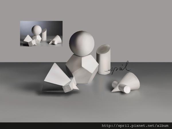 石膏練習-補